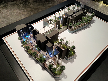 Sectional Architectural Model