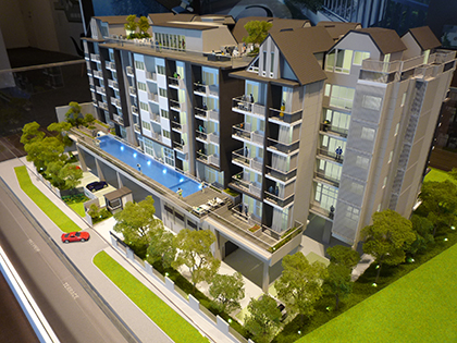 Condo at Hillview Terrace model